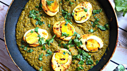 Spinach Eggcurry